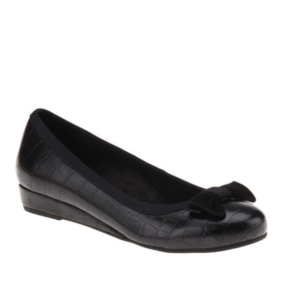 f55cc8e5fc ... Lydia Women's Demi-Wedge dress shoes look professional and feminine.  They are also highly effective at helping ease the symptoms of plantar  fasciitis.