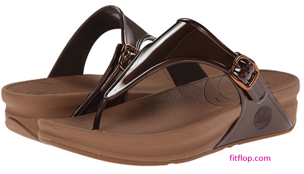 fitflop super jelly sandal